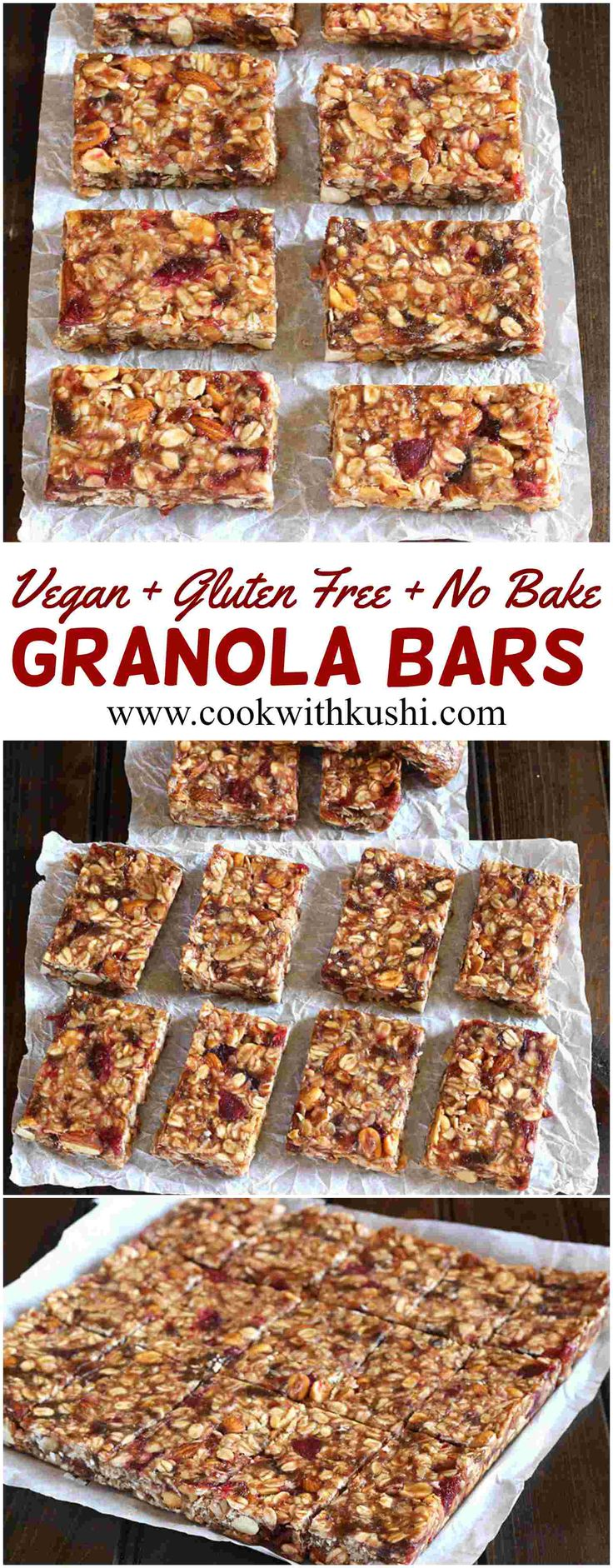 No Bake Granola Bars are easy to make, healthy and delicious sugar free snack that can be taken for any social gathering or family outings. This recipe is customizable, vegan and gluten free :-) #heftyslidersavings #ad #sponsored #vegan #vegetarian #Nobake #glutenfree #holiday #snack #appetizer #Bhgfood #buzfeedfood #Feedfeed #recipe #christmas #thanksgiving