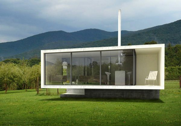 Bungaloo design by Paul Cremoux is eco-friendly with low carbon footprint