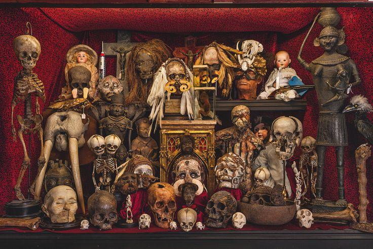 Cabinet of Death (photograph by Oskar Proctor)