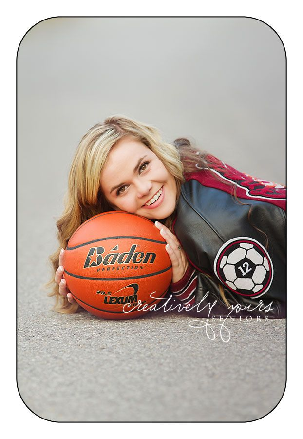 Spokane Senior Pictures with a basketball by Creatively Yours Seniors #basketball #senior #athlete
