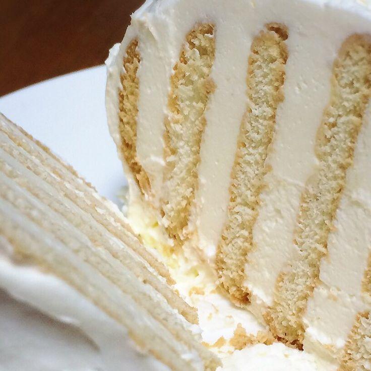 マリービスケットをつかった「黒柳徹子ケーキ」はとってもおいしいのに簡単にできるのだとか。チョコレートクリームやはちみつと抹茶を加えて、抹茶クリーム風にアレンジしてもOK!ぜひ皆さんも作ってみてください。