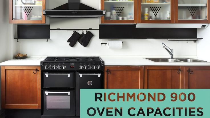 Belling Richmond - 90cm range cooker cavity capacities (applies for all Colour Boutique models too)