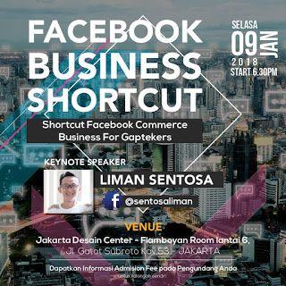Peluang Bisnis eCommerce 2018: Seminar Facebook Business Shortcut