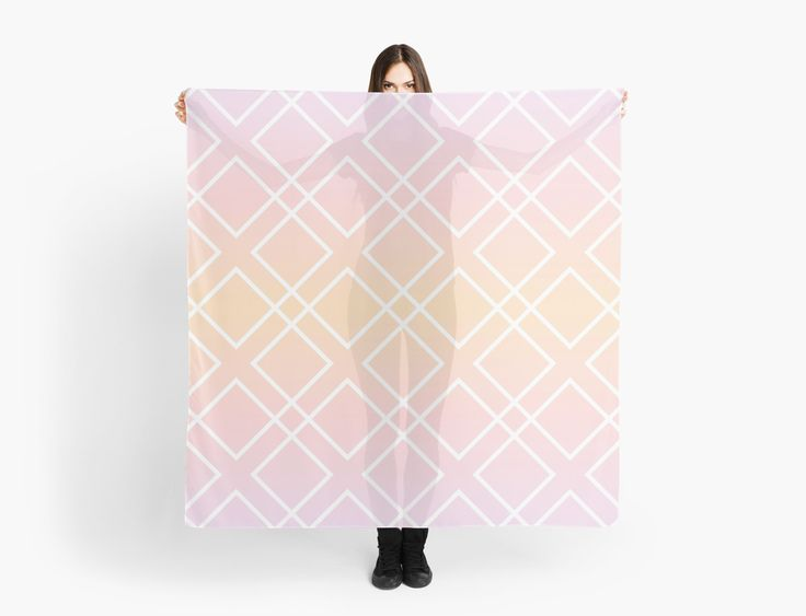 Geometric pattern Sunrise by LunaPrincino #lunaprincino #redbubble #print #prints #art #design #designer #graphic #clothes #for #women #apparel #shopping #scarf #scarves #accessories #spring #2017 #fashion #style #pattern #texture #geometric #geometry #ornament #lines #diamond #rhombus #diagonal #squares #sunrise #morning #gradient #pink #orange #purple #and #white #pretty #cute #beautiful #tender #girlish #abstract