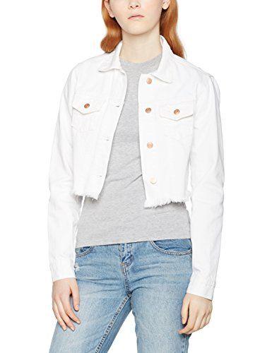 Veste Jean Jacket Blanc Urban Femme Classics En Short Denim Ladies ZTY5Zwqv