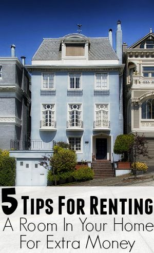 A great way to make extra money each month is to rent out a room in your room. If you have a spare room, a separate apartment (such as above your garage), a finished basement, and so on, then this … 5 Tips For Renting Out a Room In Your Home For Extra Money. http://diversifiedfinances.com/5-tips-renting-room-home-extra-money/