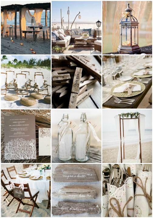 418 best beach wedding playbook images on pinterest beach weddings rustic beach inspiration junglespirit Image collections