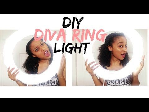 DIY Diva Ring Light | Under $25 - YouTube
