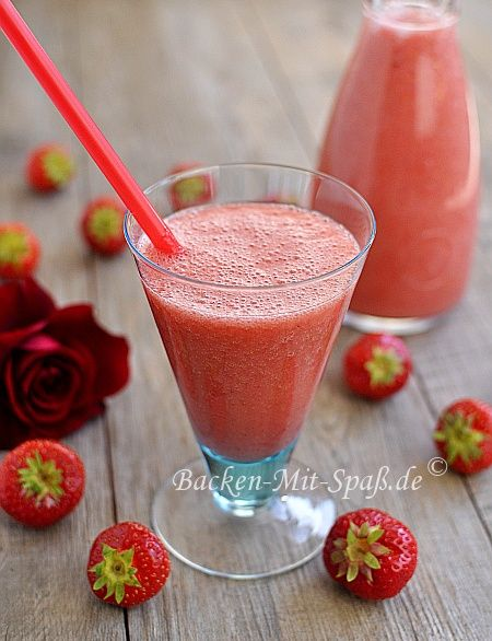 Erdbeer- Bananen- Smoothie