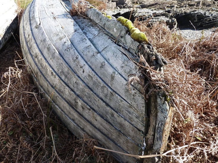 Boat at Talmine in the Highlands of Scotland - Visit Scotland for Scenery and places to visit