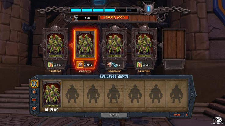 Orcs Must Die Unchained - Minion select