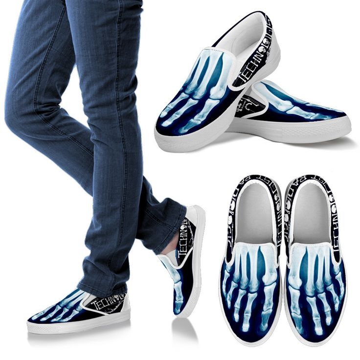 Rad Tech X-ray Slip-Ons