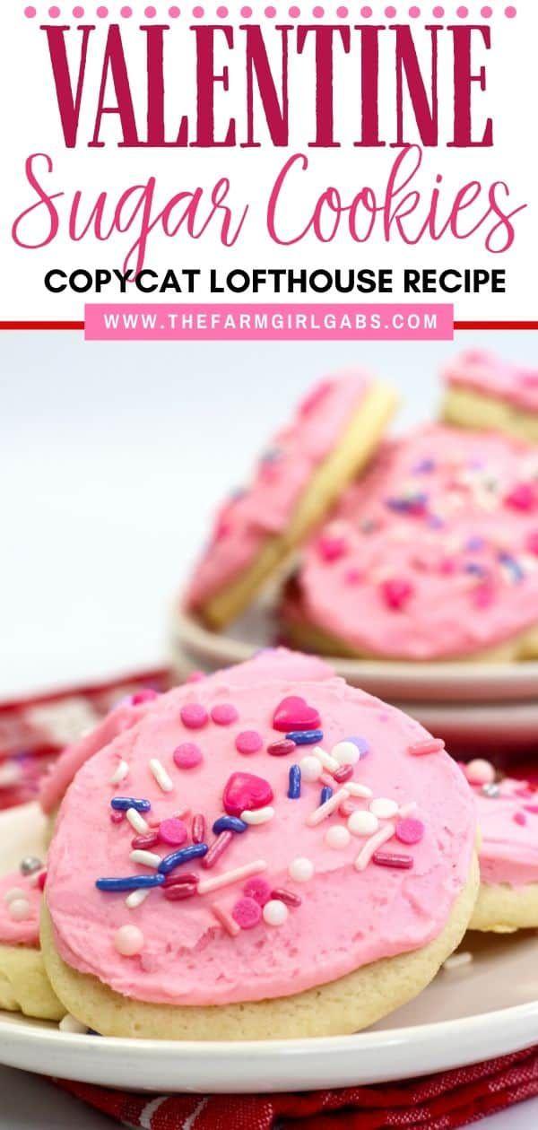 Valentine Lofthouse Sugar Cookies Recipe In 2020 Easy Sugar Cookies Sugar Cookie Recipe Easy Baking Soda Cream