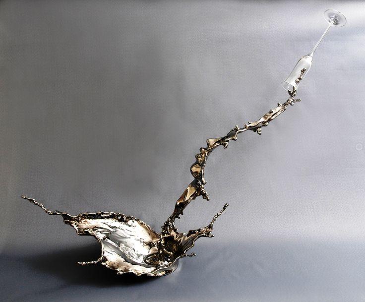 Splash of Wonder - Stainless steel sculpture