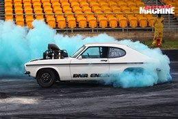 Ford Capri blown burnout MADSAM 2 nw