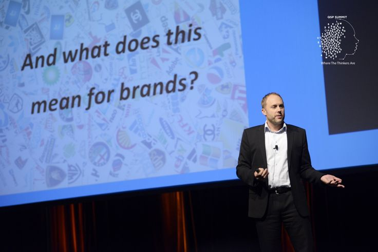 "Joerg Niessing, Insead Lab Executive Director presented brilliantly the theme ""The Future of Brands"" in the QSP Summit 2015. #qspsummit"