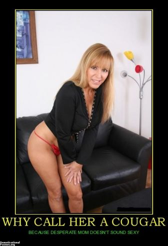 chocen cougar women Inside the dating world of women in the 60s and 70s looking for love from men in their 20s.