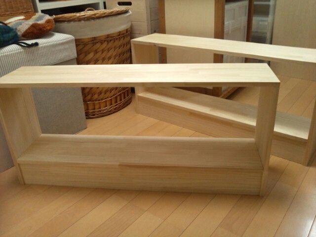 ヘッドボードの制作 - 収納ハッピーライフ