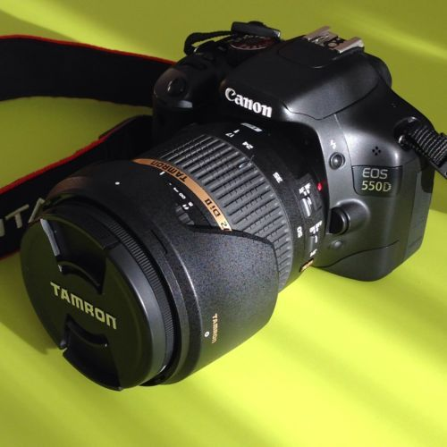 Canon Eos 550D+Tamron 17-50mm F2,8 2 Batt. SD16gb  Filtro Uv Slim