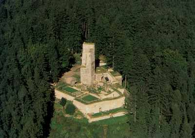 zřícenina hradu Orlík/Humpolec