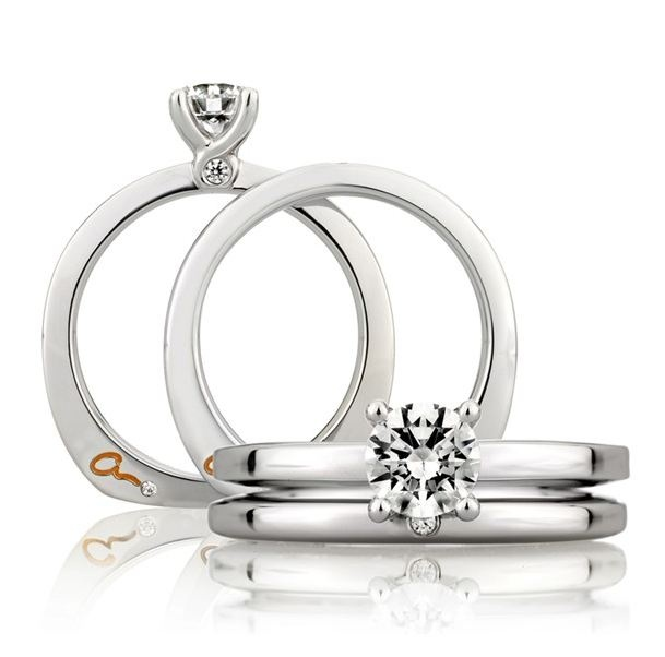 Amazing A Jaffe Engagement Ring Solomon Brothers