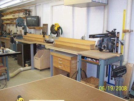 new yankee workshop radial arm saw. probably good to put nice miter box tool in middle and dewalt mbf at the end new yankee workshop radial arm saw