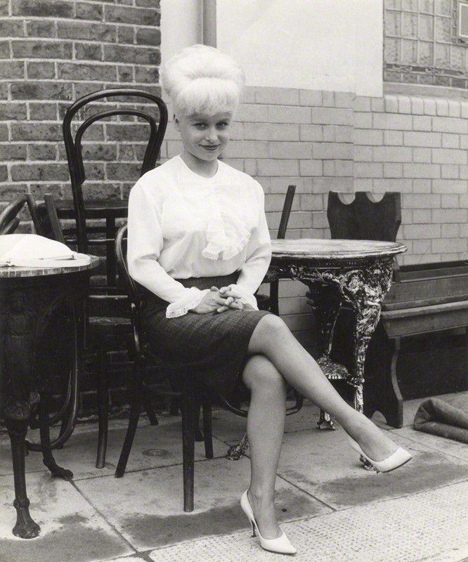 Barbara Windsor photographed by Daniel Farson, 1963.