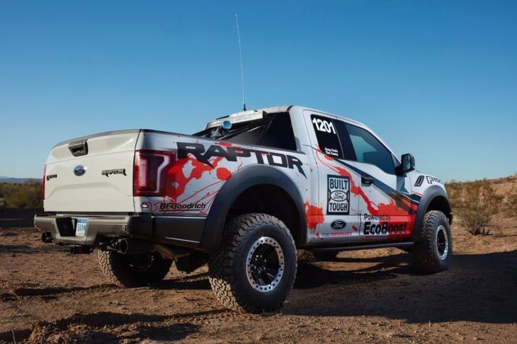 Новый Ford F-150 Raptor пройдет испытание пустыней