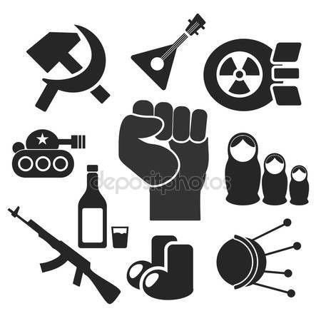 Letöltés - Oroszok webes és mobil ikonok. Vektor — Stock Illusztráció #63217039