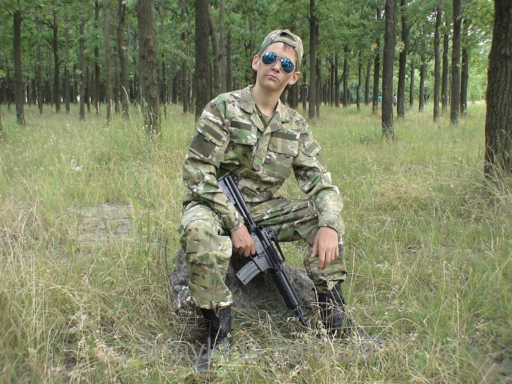 Костюм детский Киборг для мальчиков камуфляж Мультикам от 6 до 14 лет копия военного костюма15-255