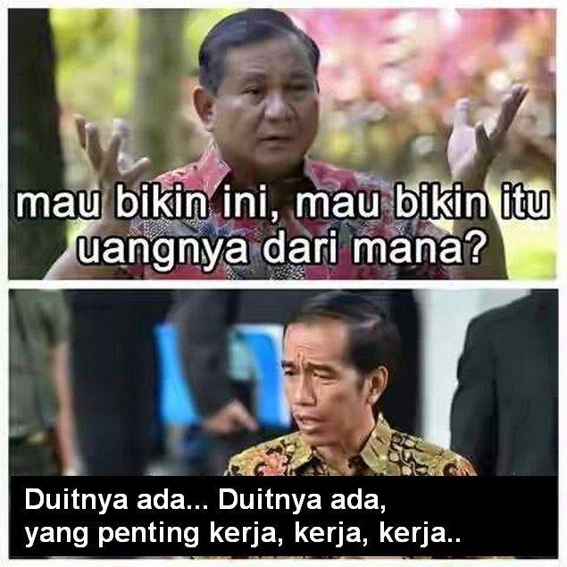 Inilah Perumpamaan Kondisi APBN Negara Kita Saat Ini di Bawah Rezim Jokowi  [by Canny Watae] Anda merenovasi rumah dari tipe 45 menjadi setara tipe 90 padahal anda hanya berdua istri (belum ada atau tanpa anak) sementara keuangan rumah tangga sedang pas-pasan itu sama dengan negara ini yang di bawah rezim Jokowi begitu bersemangat membangun infrastruktur. Anda mendapat mendapat tawaran pinjaman yang pas benar dengan kebutuhan anda merenov rumah itu bukan berarti anda dipandang kredibel untuk…