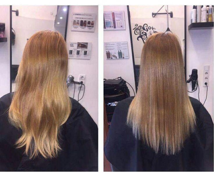 """Noémi szeret világos színekkel """"játszani"""" :)  #hairstyle #hair #hairfasion #haj #festetthaj #coloredhair #széphaj #szépségszalon #beautysalon #fodrász #hairdresser #ilovemyhair #ilovemyjob❤️"""