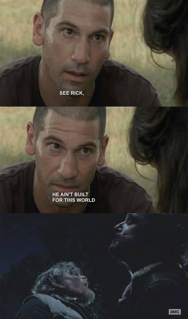 "And when Shane couldn't have been more wrong. | 31 Things Only ""The Walking Dead"" Fans Will Understand"