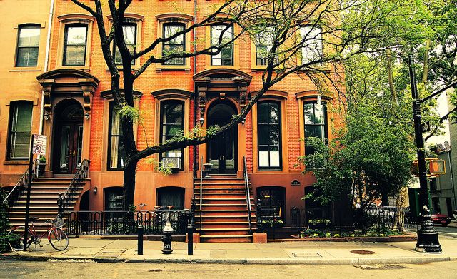 Cobble Hill: Big Cities, New York Cities, Cobbl Hill, Hill Brownstone, Trees Branches, Vivienne Gucwa, Viviennegucwa, New York City, Brooklyn New York
