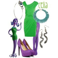 Monster Inc Celia Costume Celia monsters inc costumes