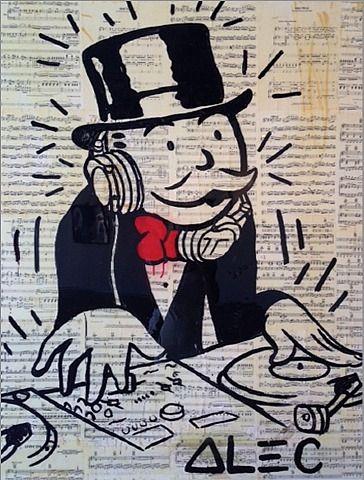 Alec Monopoly, DJ Monopoly