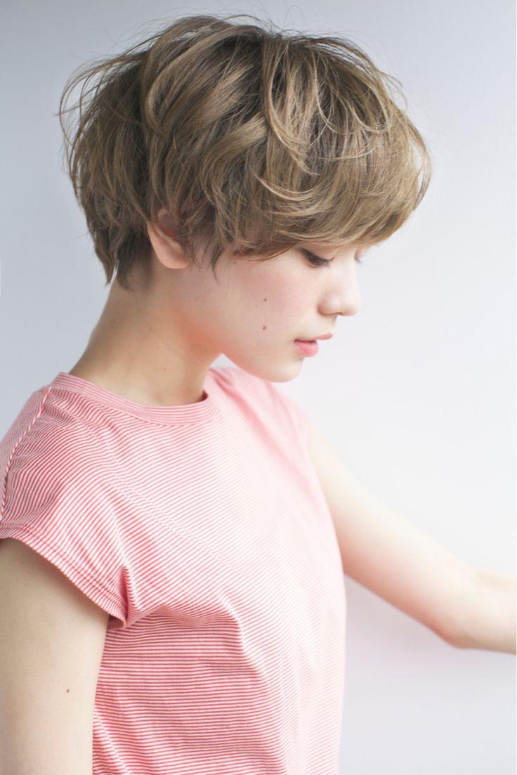 佐脇 正徳さんのヘアカタログ | 大人かわいい,アッシュ,ショート,エンジェル顔,ショートヘア | 2016.06.09 15.10 - HAIR
