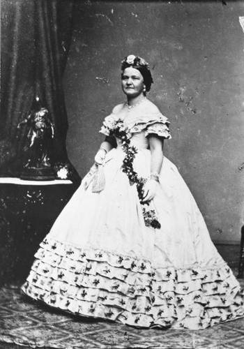 Mary Todd Lincoln  Picture of First Lady Mary Todd Lincoln, wife of President Abraham Lincoln