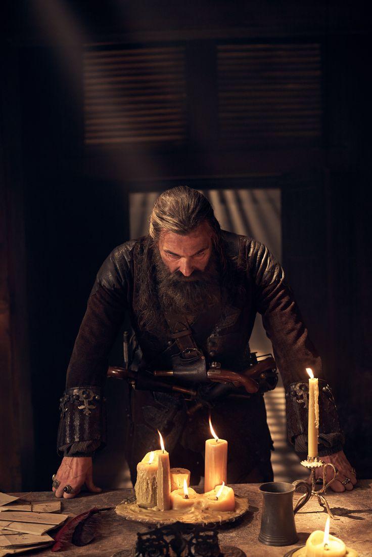 Ray Stevenson as Black Beard in Black Sails Season 4