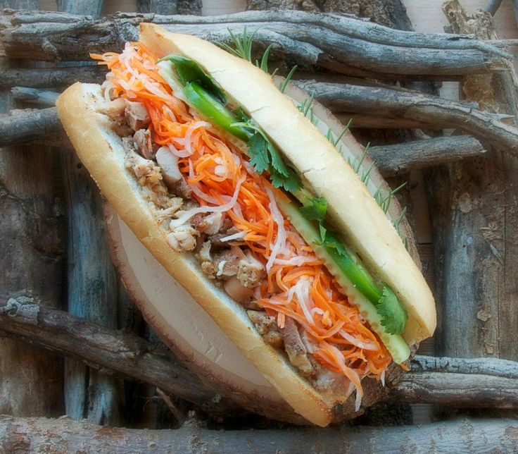 Banh mi at coriander cafe in norman ok asian cuisine