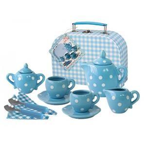 Imagetoys Tesett i koffert, blå (225-2396)