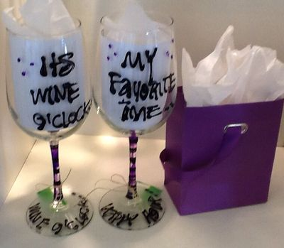 cheeky sayings - Glassware Creations by Laurie