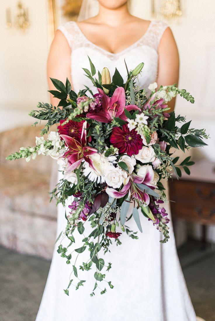 Trish And Scott S Ashton Creek Vineyard Wedding Fls By Over The Top Flower