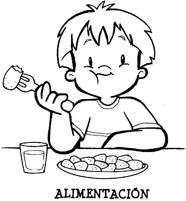 Vida Saludable Comiendo Personas Ppara Pintar Buscar Con Google Love Coloring Pages Preschool Tracing Coloring Pages