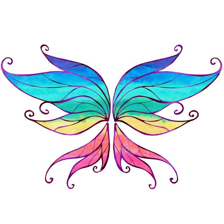 Wings Temporary Tattoos #701
