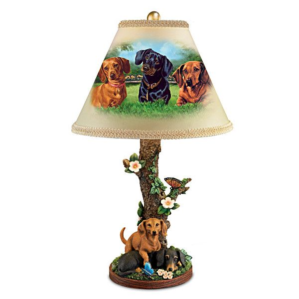 Darling dachshunds lamp dachshund lamps and what i want - Dachshund lamp ...