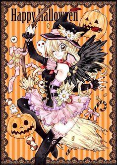 arina tanemuras fine halloween art - I Luv Halloween Manga