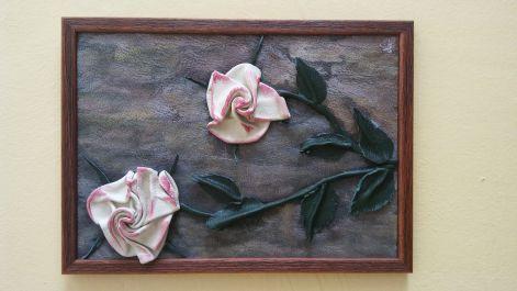 Bőrkép (virág) - Bőrképek,bőrtárgyak,bőrrózsa,ajándék
