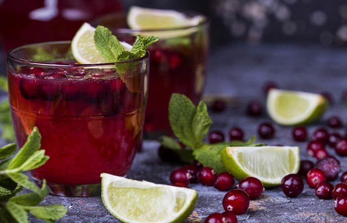 Cranberry Juice For Skin Cocktails In 2020 Cranberry Vorteile Saft