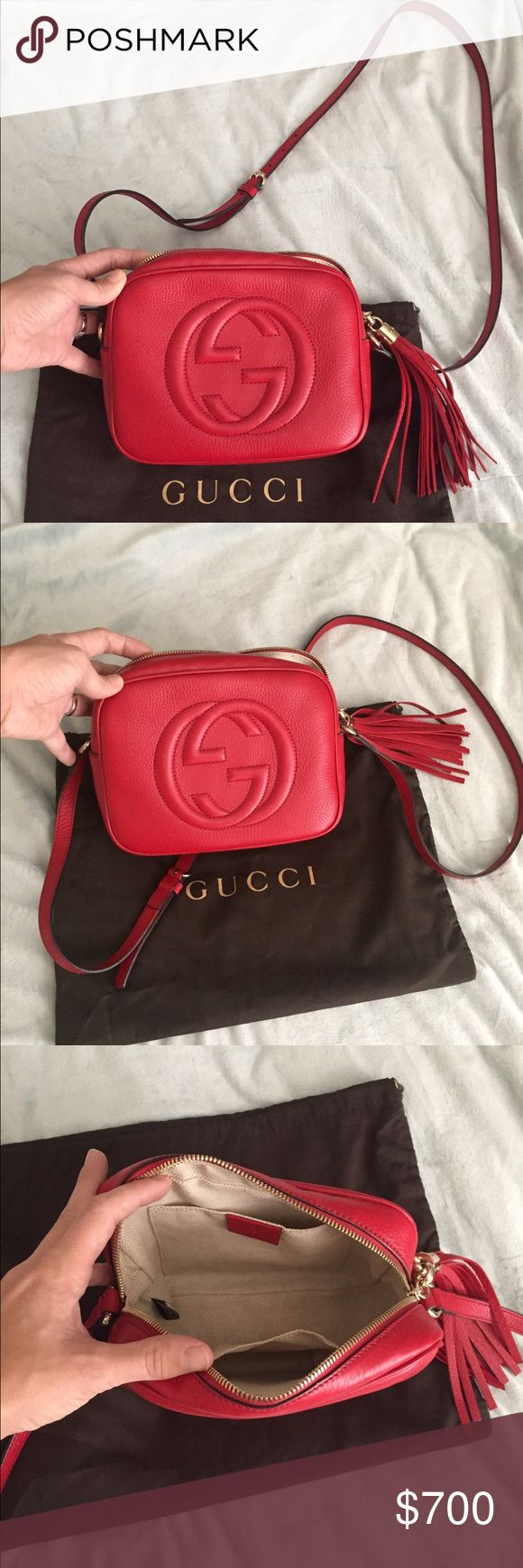 Gucci Soho Disco *RELISTING: Please see previous listing! LIKE NEW condition! Gorgeous Gucci bag! PRICE IS FIRM. Gucci Bags Crossbody Bags